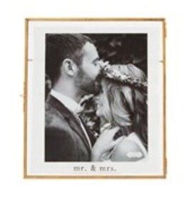 Wedding glass frame 8x10 469400