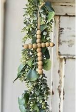 Hanging natural cross mx8371