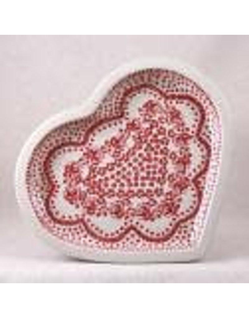Heart plate t-118