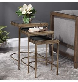 "UTTERMOST India Nesting Tables (S/3) 24908 19""W x 24""H x 18"" D"