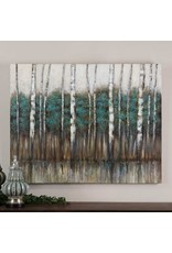 """UTTERMOST Edge of the Forest Hand Painted Canvas 51""""W x 40"""" H x 2"""" D 34284"""