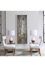 """UTTERMOST Enigma Hand Pained Canvas 26""""w x 74"""" H x 2"""" D 34378"""