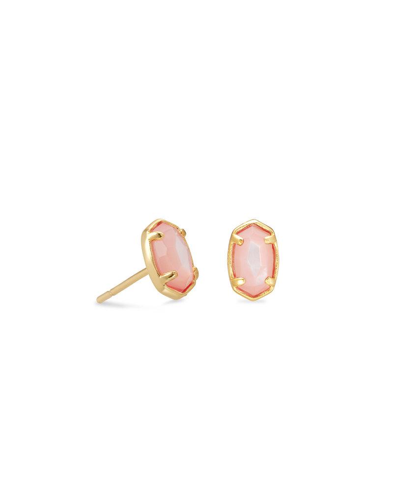 KENDRA SCOTT Emilie stud earing rose gold san drusy 21771812
