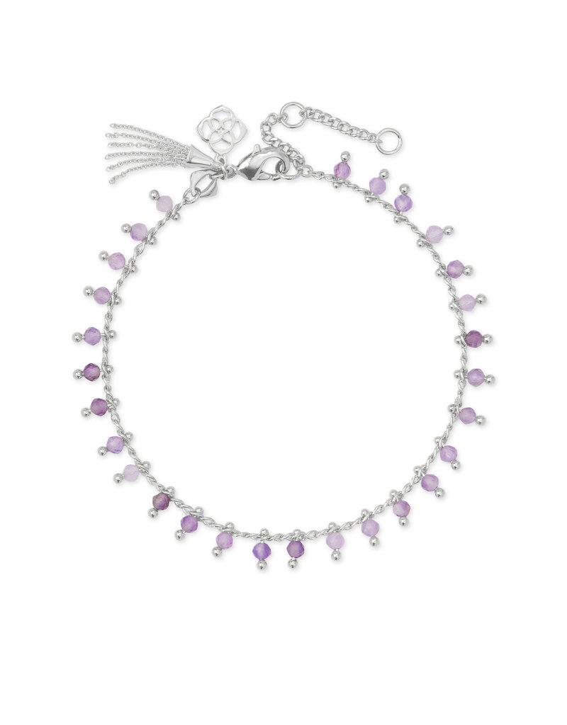 KENDRA SCOTT Jenna strand necklace rod purple ametyst 4217718069