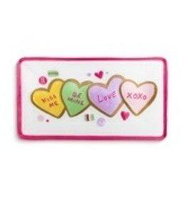 "Valentine cookies platter 15x8"""