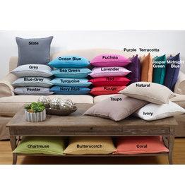 """20"""" butterscotch fringed linen pillow 6036.bl18sp"""