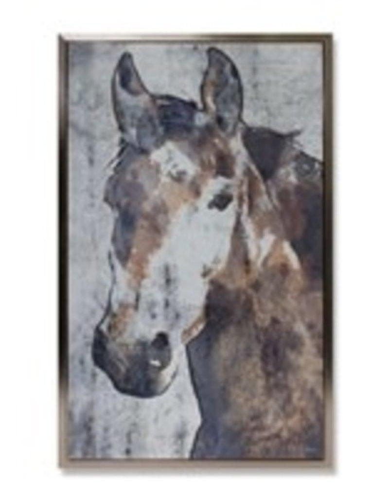 "Horse Print 19.25""Lx31"" H 82155"
