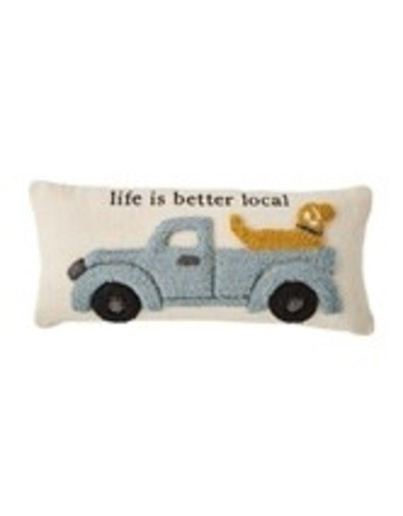 Farm Truck and Dog Hook Pillow 41600472