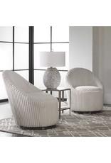 UTTERMOST Crue Swivel Chair 23578
