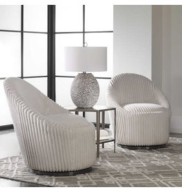 UTTERMOST Crue Swivel Chair 23578