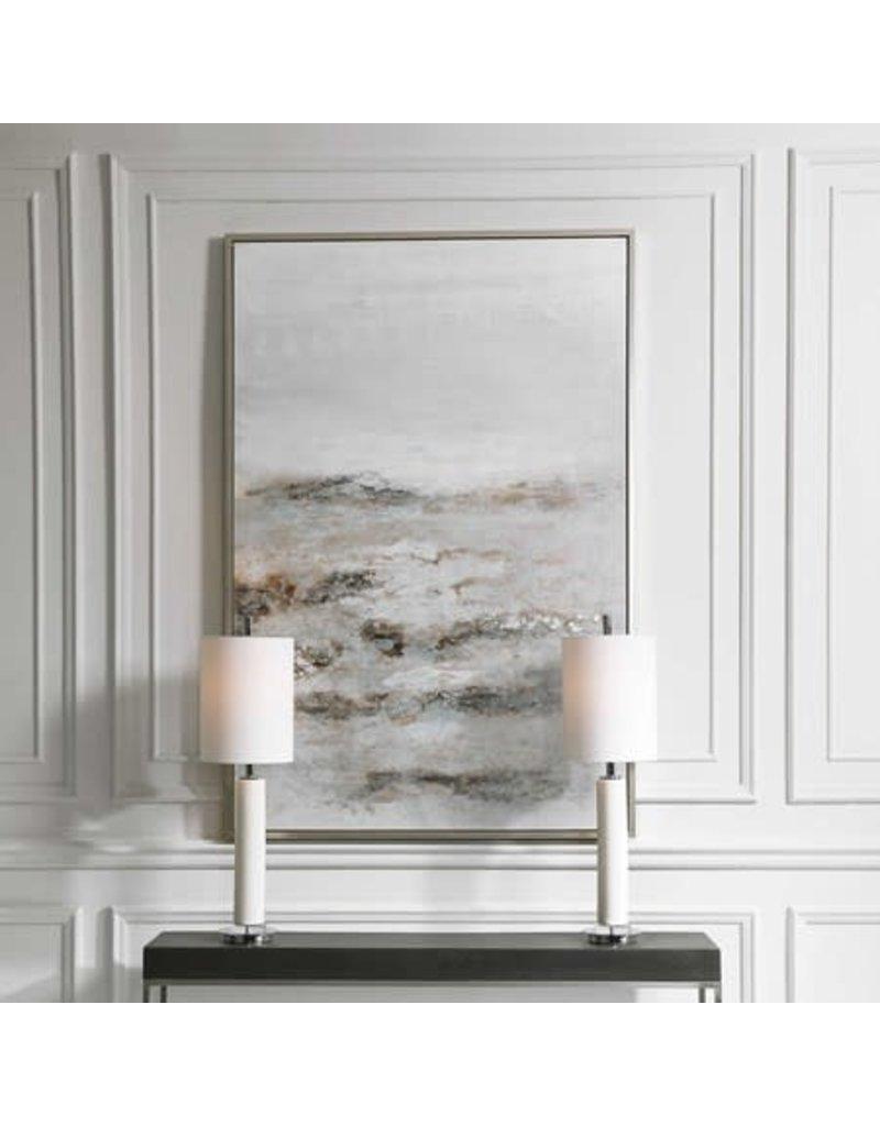 """UTTERMOST Open Plain Hand Painted Canvas 43""""Wx62""""Hx2""""D 32278"""
