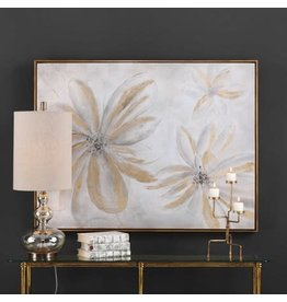 """UTTERMOST Daisy Stars Hand Painted Canvas 49""""Wx37""""Hx2""""D 38201"""