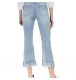 CHARLIE B Light blue stretch denim jeans c5277