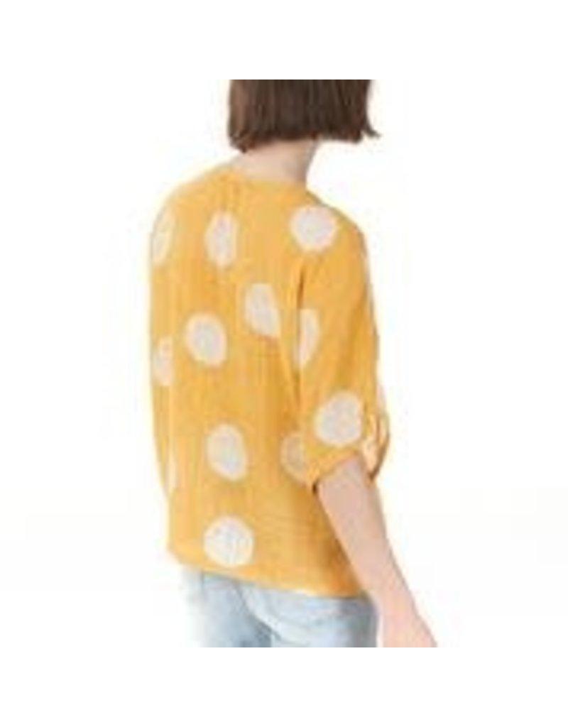 CHARLIE B Sunkiss cotton gauze shirt c4296r