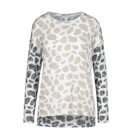 Tribal Combo animal print spring shirt