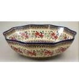 "11"" 10-sided posies bowl m108"
