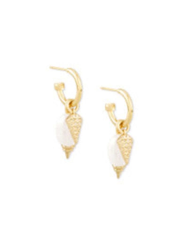 KENDRA SCOTT Demi huggie earring