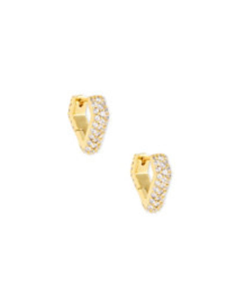 KENDRA SCOTT Demi hug earring gold 4217718174