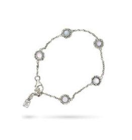 WAXING POETIC Moon Daisy Delicate Chain Bracelet-Sterling Silver MDCHN7SS