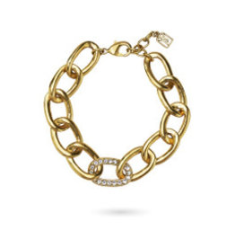 WAXING POETIC The Myth of Separation Bracelet-Brass & Crystals TMOS-67-BR