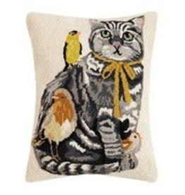 Cat With Birds Pillow 30ML464C180B