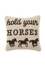 Hold Your Horses Pillow 30TG35C16SQ