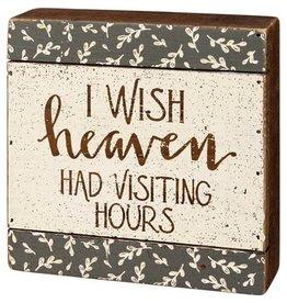 Heaven slat box sign 109253