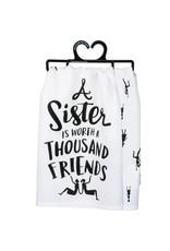 A sister dish towel 33840