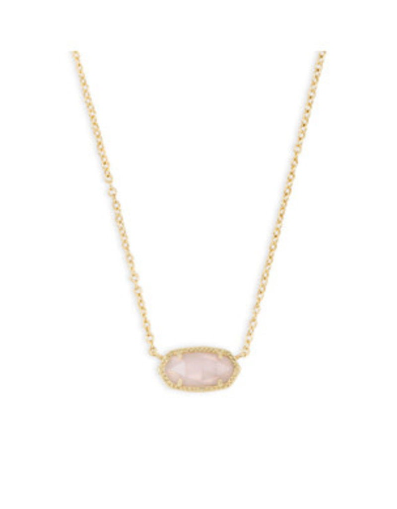 none Elisa rose gold quartz necklace 4217711453
