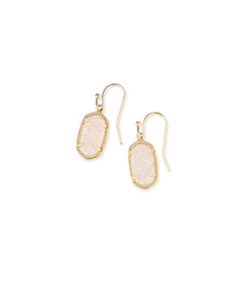 KENDRA SCOTT Lee gold irrid drusy earring 4217711447