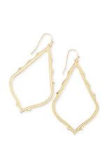 KENDRA SCOTT Sophee gold metal earring 4217710173