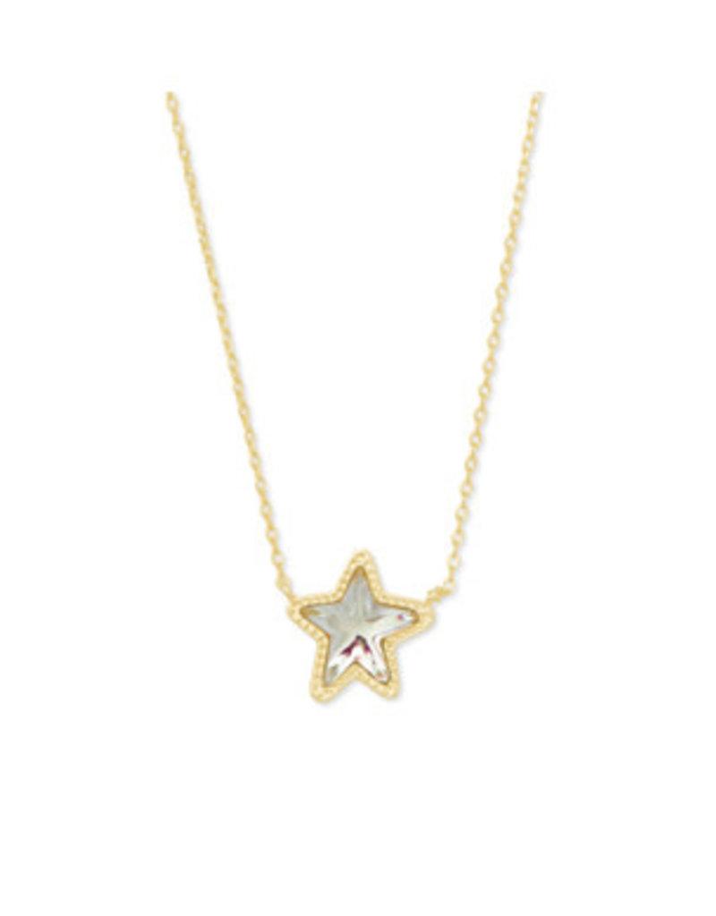 KENDRA SCOTT Jae star short gold dioc glass 4217717969