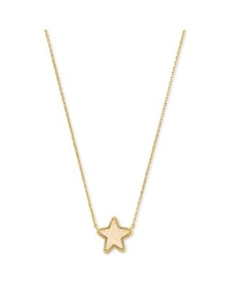 KENDRA SCOTT Jae star short pendant gold irr drusy 4217711507