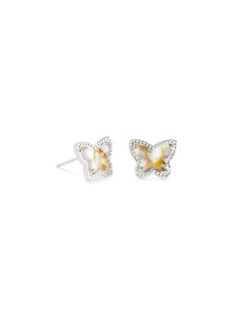 KENDRA SCOTT Lillia butterfly rhod irr. earring 4217719067