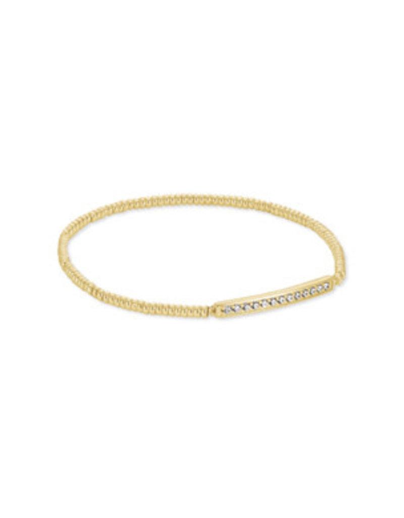 KENDRA SCOTT Addison stretch bracelet gold 4217717958
