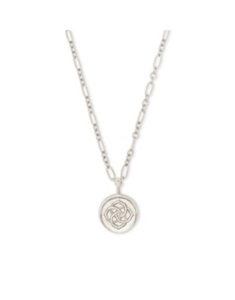 KENDRA SCOTT Dira coin pendant necklace  rhod 4217718784