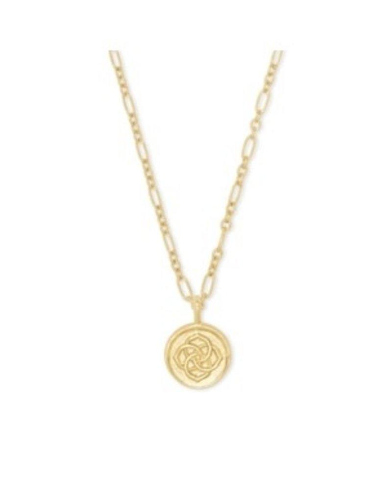 KENDRA SCOTT Dira coin pendant gold necklace 4217718783