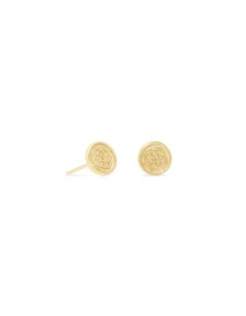 KENDRA SCOTT Dira coin stud earrings gold 42117718777