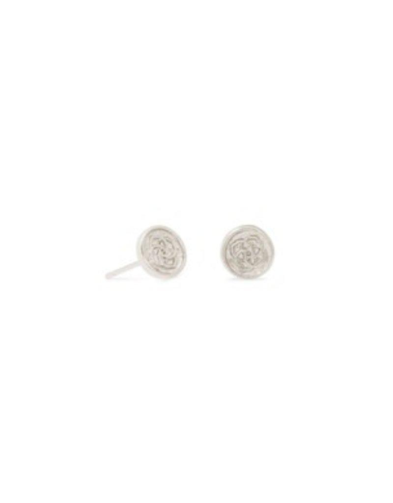 KENDRA SCOTT Dira silver stud earrings 4217718778