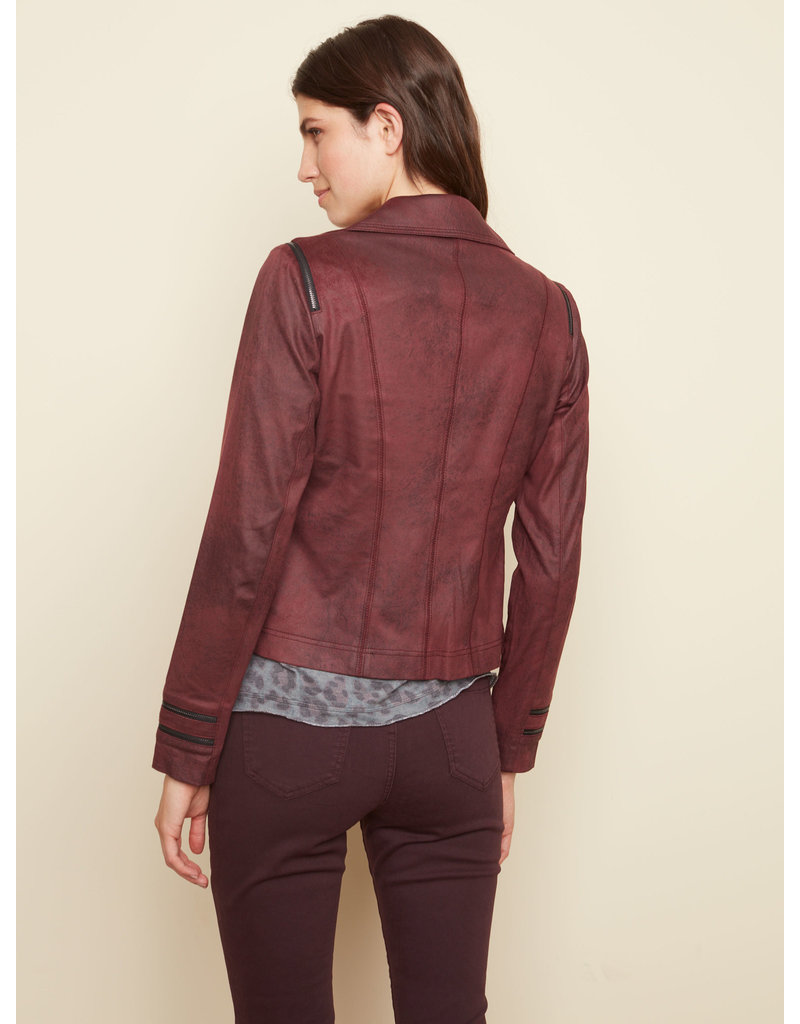CHARLIE B Sienna Faux leather jacket