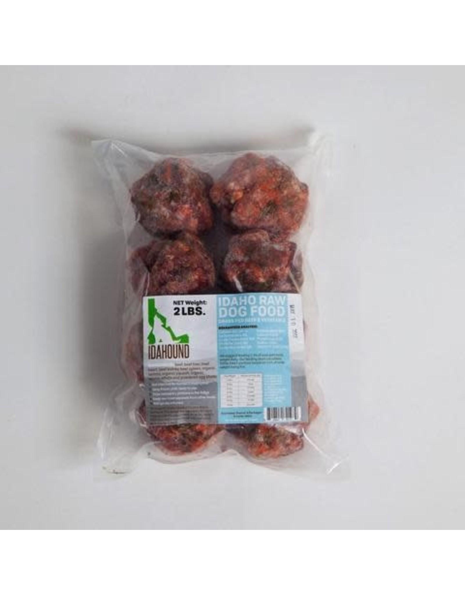 Idahound Idahound: RAW Beef Meatballs 2lb