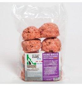 Idahound Idahound: RAW Hare Balls 2lb