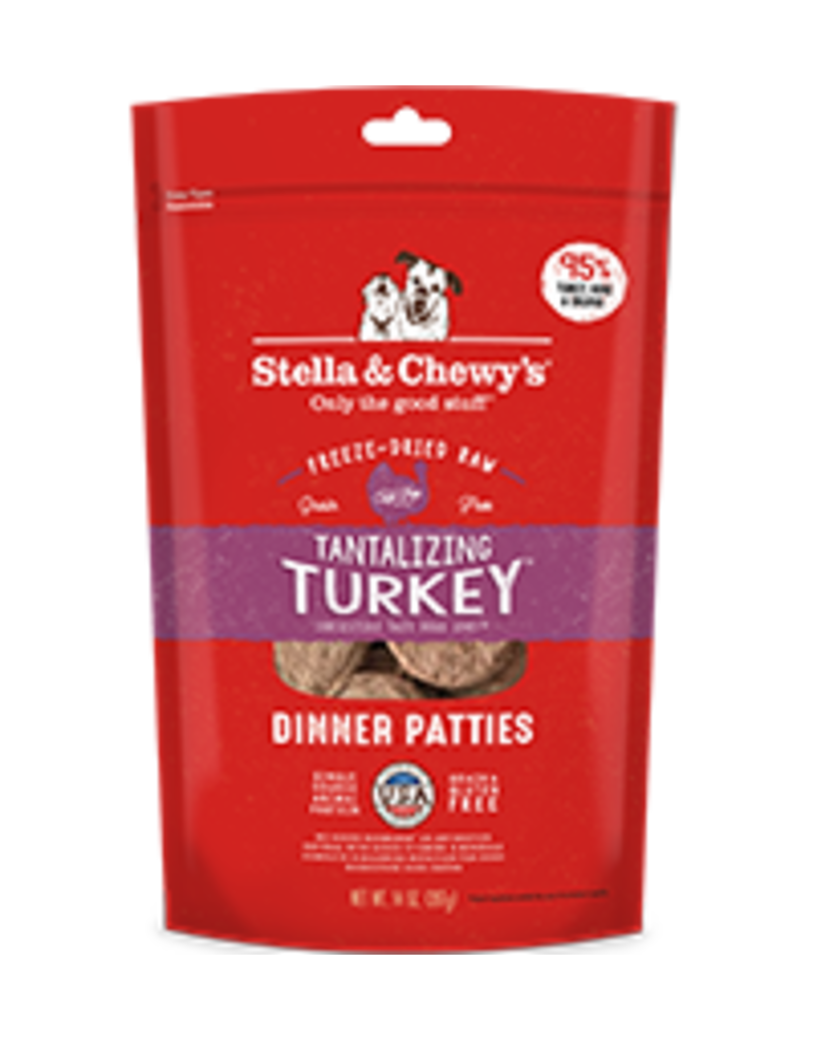 Stella & Chewy Stella & Chewy's Freeze Dried Raw Dinner Patties