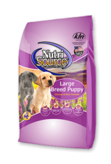 KLN Nutrisource: Large Breed Puppy Chicken & Rice 30lb