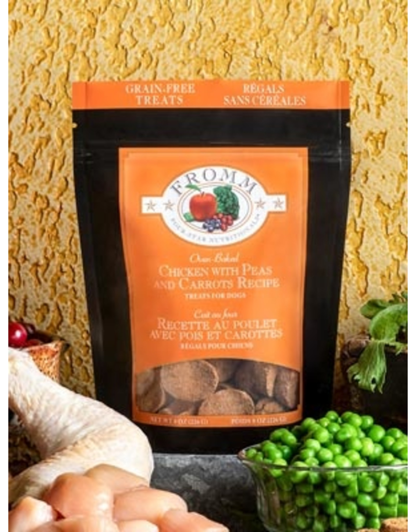 Fromm Fromm: Treat Chicken Carrot Peas 8oz