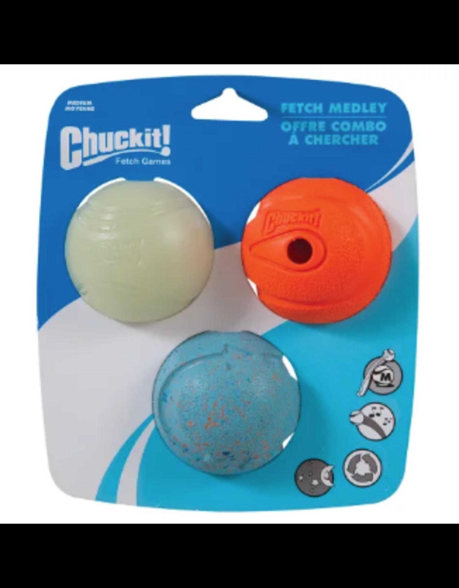 Chuckit Chuckit: Medley Fetch - 3pk