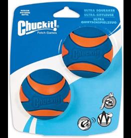 Chuckit Chuckit: Ultra Squeaker MD 2PK