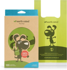Earth Rated ERated: Poop Bag Handle 120 Unscented