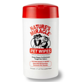 Nature's Miracle: Pet Wipes 70ct