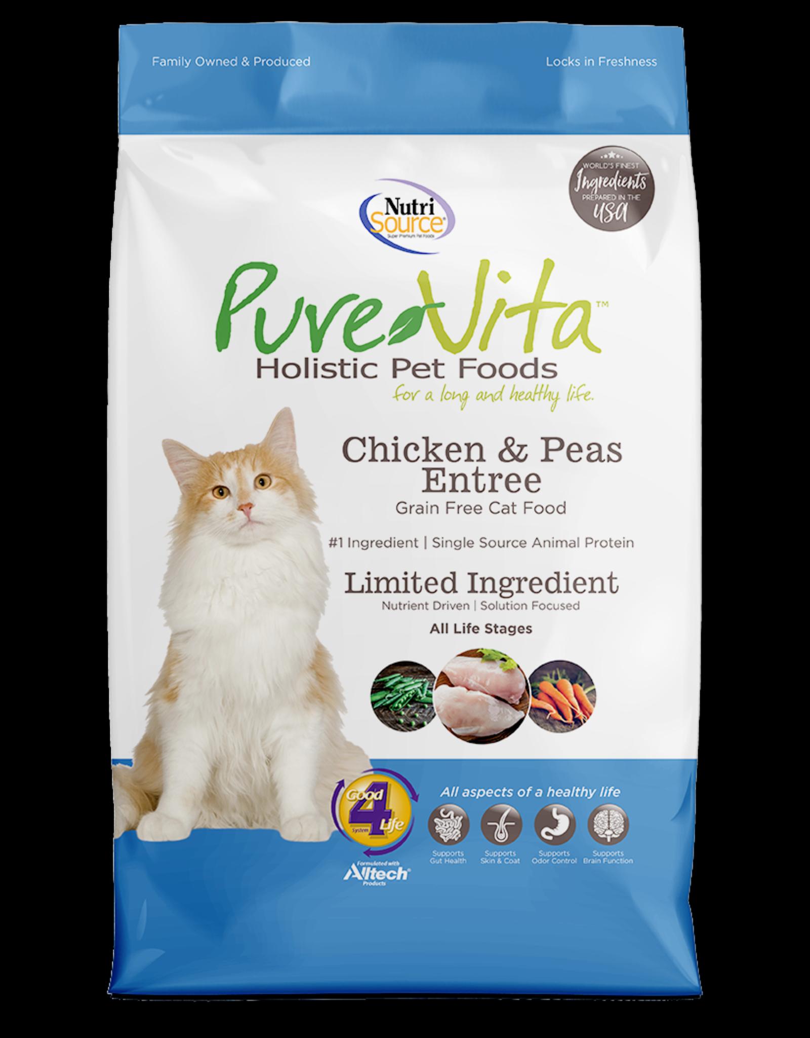 KLN PureVita: cat GF Chicken Pea 6.6lb
